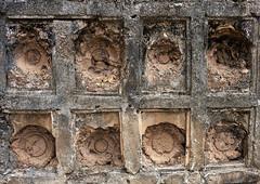 Former place to put chinese plates as decoration on ancient muslim graves, Lamu County, Manda island, Kenya
