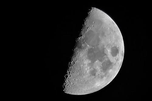 La luna de esta noche