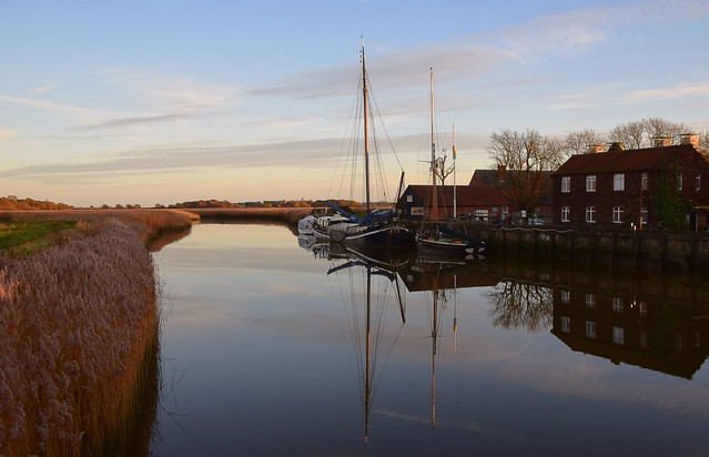 At Snape, on the River Alde, Suffolk. 22 11 2020.