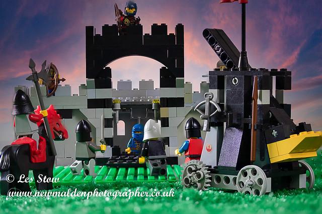 Castle seige