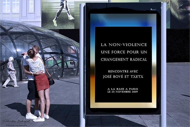 La non-violence, une force pour un changement radical ✔  Conférence organisé par l'association Non-Violence XXI