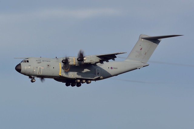 Royal Air Force Airbus A400M Atlas C.1 ZM406