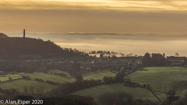 Misty morning North Nibley