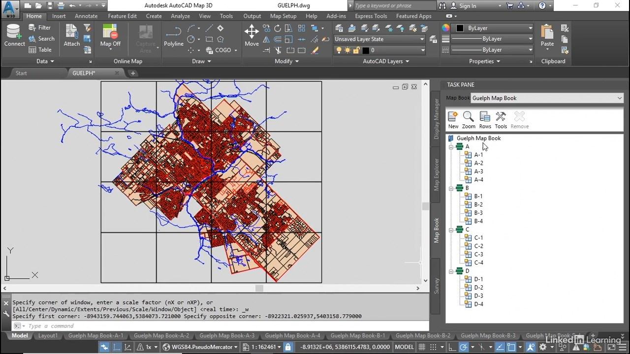 AutoCAD Map 3D 2021 Essential Training