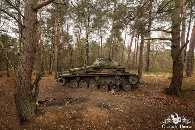 Lost Tanks (Tank Graveyard), Germany