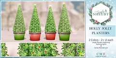 Simply Shelby Holly Jolly Planters