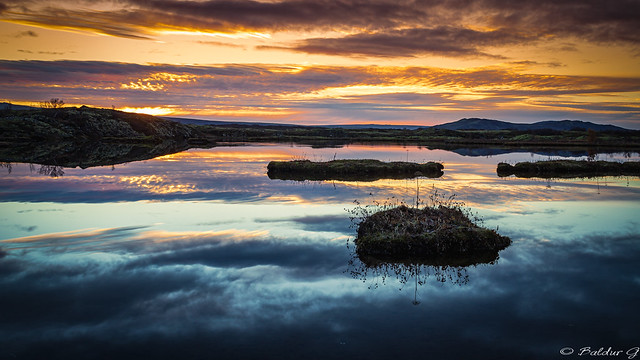 Sunrise, Thingvellir National Park Iceland