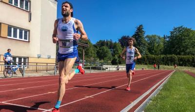 Krunka vyhrál dvanáctý závod Běžeckého klubu Náchod