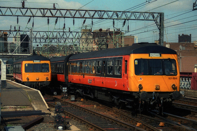 101694 & 101695, Glasgow Central, June 24th 1999