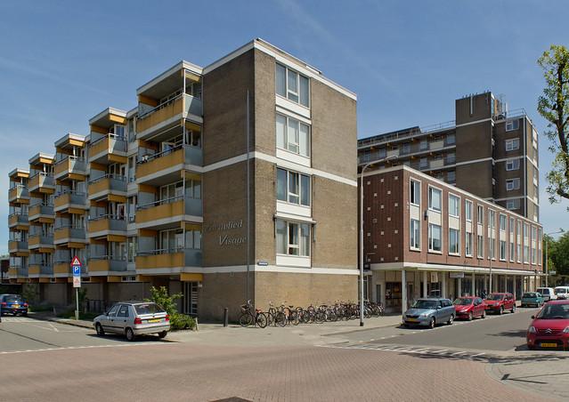 Tilburg - Hoek Zouavenlaan, Schout Backstraat