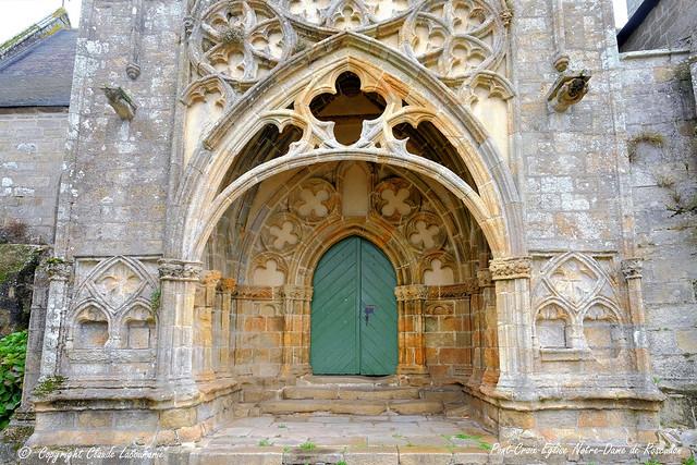 Pont-Croix   Collégiale Notre-Dame de Roscudon
