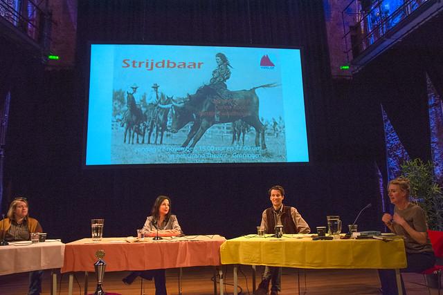 Corina Koolen, Manon Uphoff en Merlijn Twaalfhoven