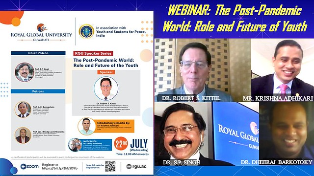 India-2020-07-22-'Role and Future of Youth' Webinar Draws Over 1,000 Participants