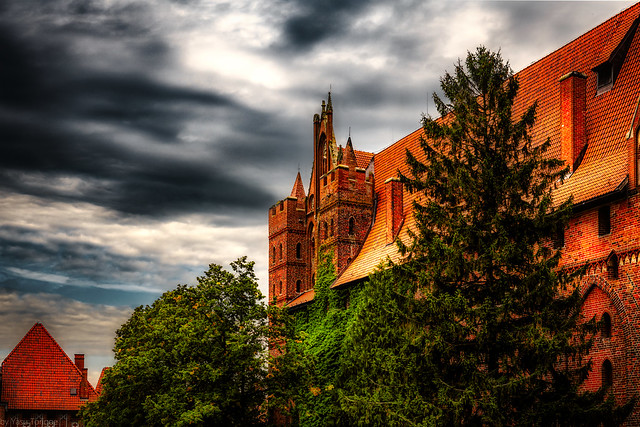 Malbork Castle: the Upper castle, Malbork, Poland.  275-Edita