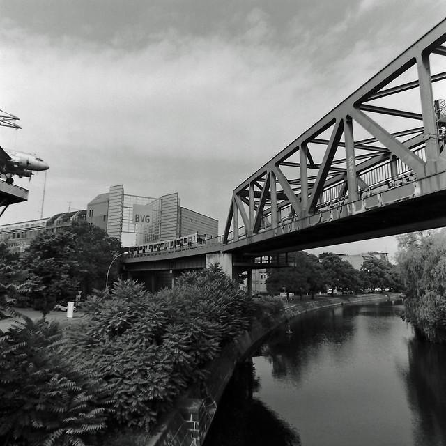 Berlin Kreuzberg Landwehrkanal  24.7.2020
