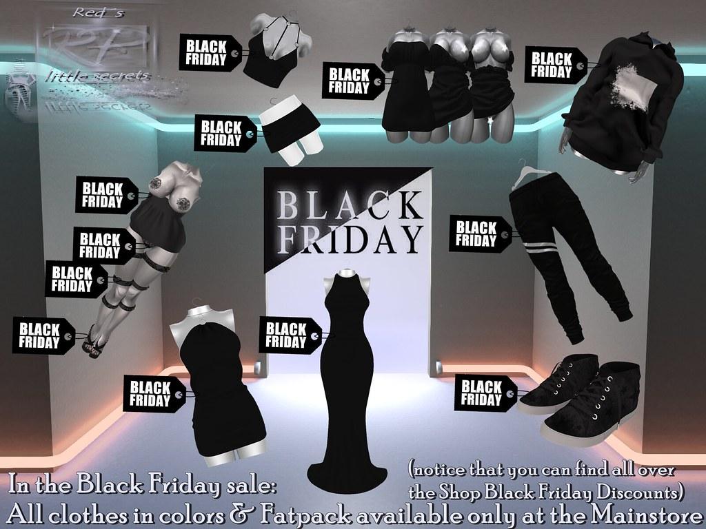 Black Friday at Red´s little secrets,