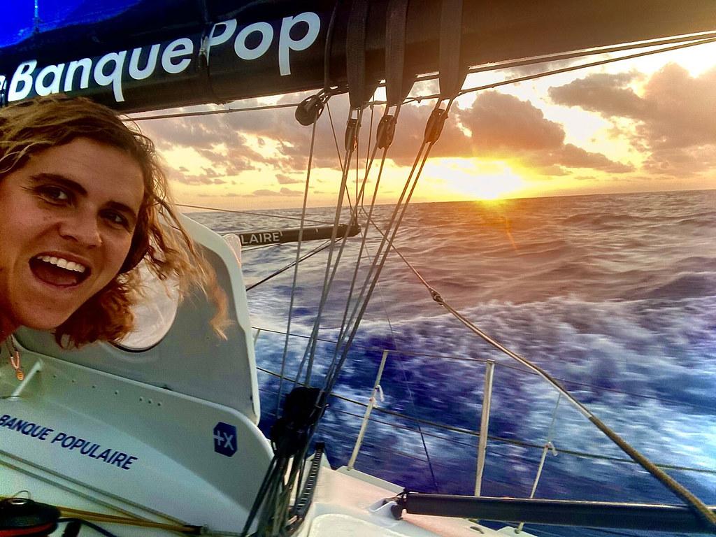 Clarisse Crémer - Vendée Globe - 22/11/2020