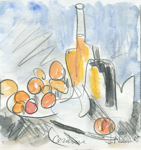 Cezanne table