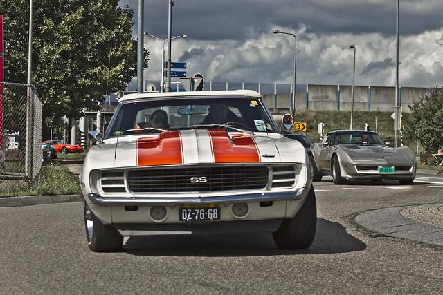 Chevrolet Camaro SS Convertible  1969 (1642)