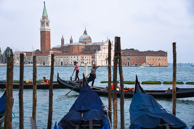 venezia - gondolas