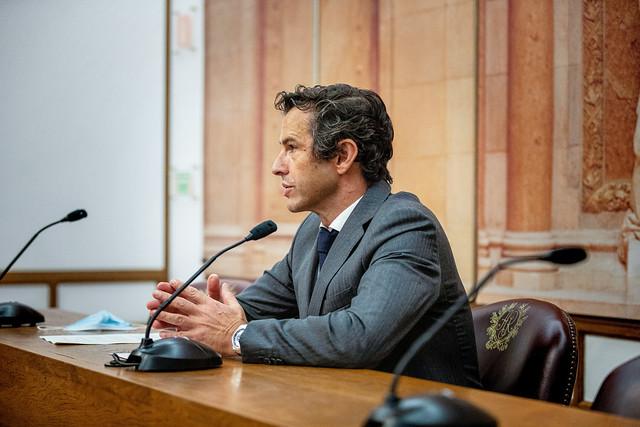 Carlos Peixoto em Conferência de Imprensa