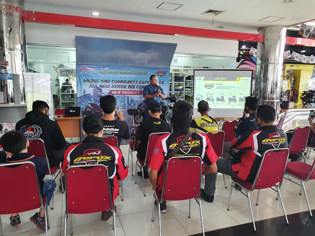 Launching All New Aerox 155 Connected di area Yamaha DDS Jawa Tengah & Yogyakarta