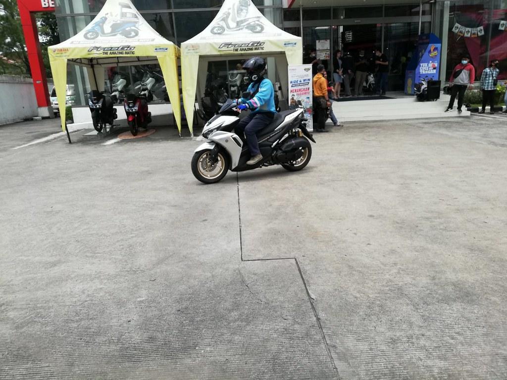 Test Ride All New Aerox 155 Connected di area Yamaha DDS Jawa Tengah & Yogyakarta