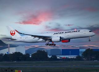 F-WZNB / JA08XJ Airbus A350-941 Japan Airlines s/n 476 - First flight