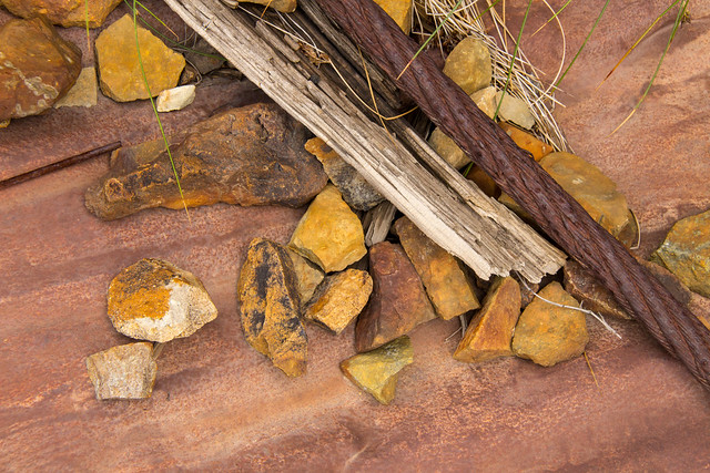 Textures of Old Mines