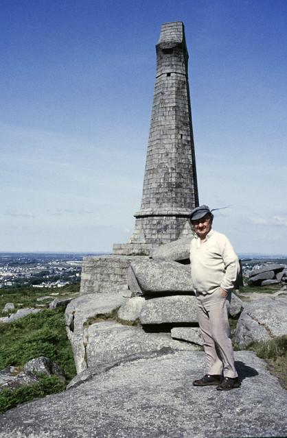 COR_0608 Basset Memorial - Carn Brea - Cornwall