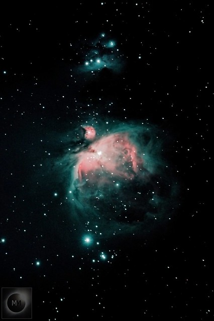 Orion's Sword with M42 the Orion Nebula 22/11/20