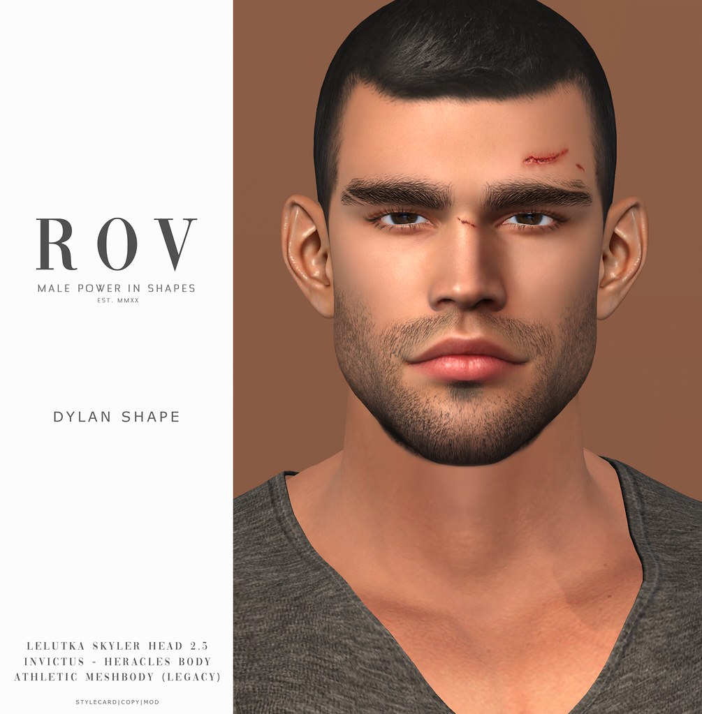 R O V                        Dylan for LeLUTKA Skyler Head 2.5