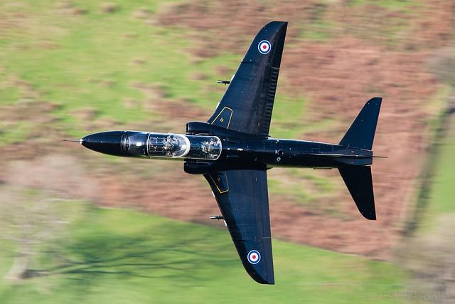 Hawk T.1A Low Level in Wales