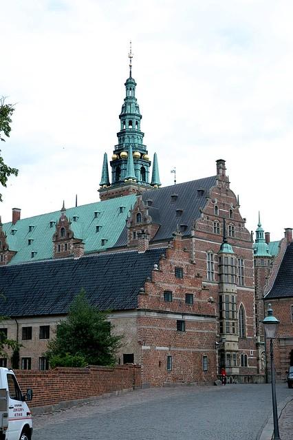 Hillerød, Sjælland, Frederiksborg castle, exterior, detail