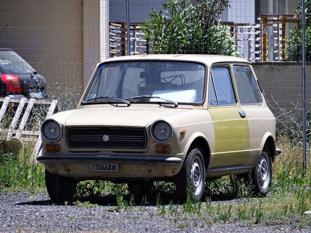1973 Autobianchi A112 E