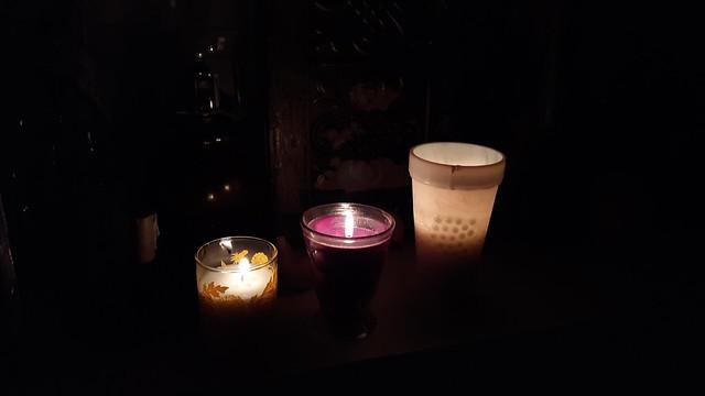 Homemade Candles Nov 2020