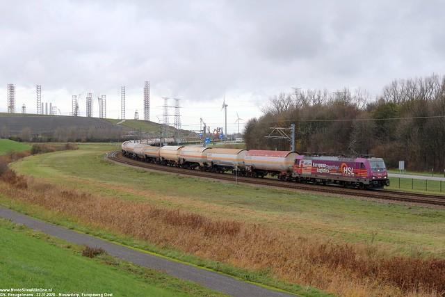 HSL 186 383 - Sloehaven 22-11-2020.