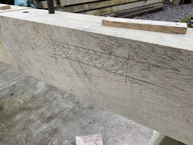 Mortise mark up