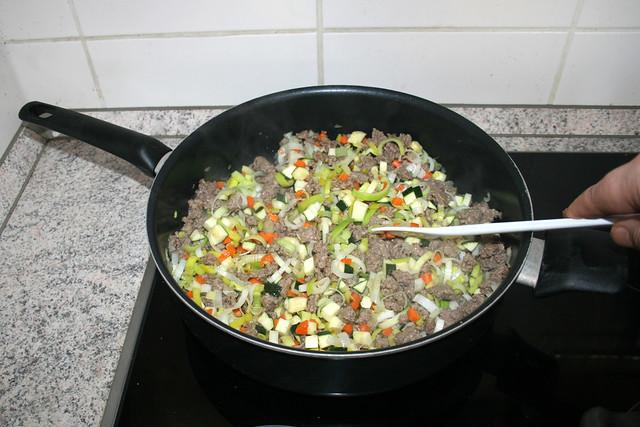 19 - Braise zucchini / Zucchini andünsten