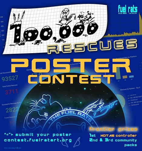 Fuel Rats 100.000th Rescue Poster Contest | by Uvelius: Jugger and other stuff