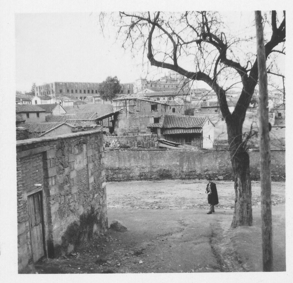 Barrio de las Covachuelas hacia 1930. Fotografía de Fernando García Mercadal © Fundación Arquitectura COAM
