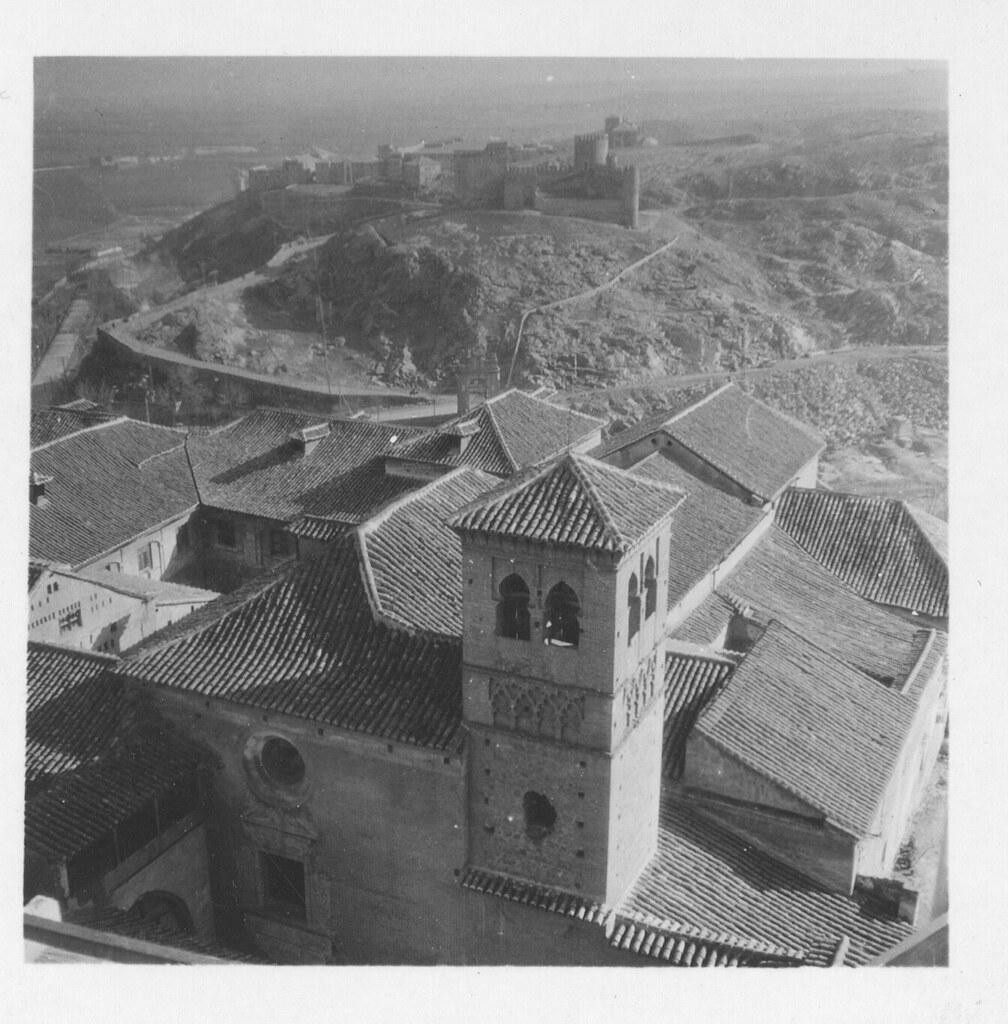 Convento de la Concepción Francisca y Castillo de San Servando hacia 1933. Fotografía de Fernando García Mercadal © Fundación Arquitectura COAM