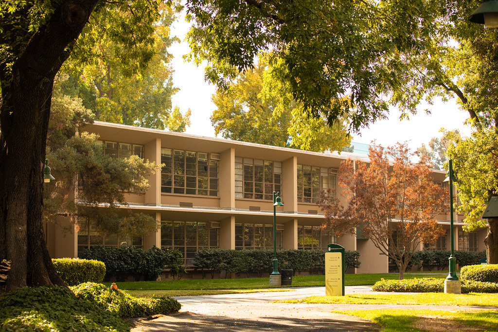 View of School Building
