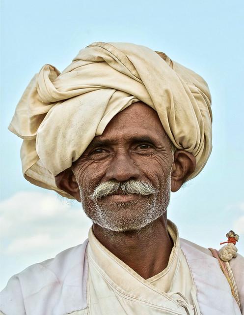 Gujarat - Un berger.