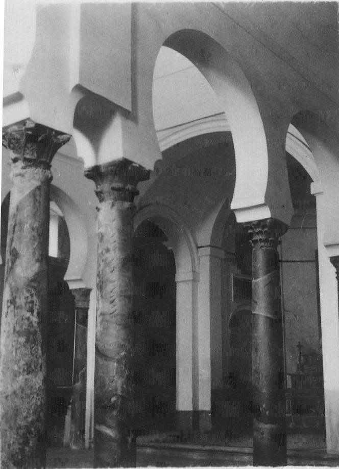 Interior de la Iglesia de Santa Eulalia hacia 1933. Fotografía de Fernando García Mercadal © Fundación Arquitectura COAM