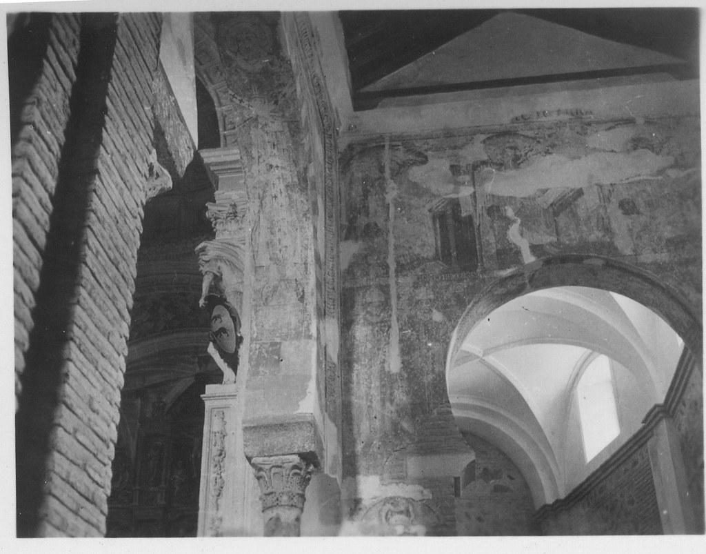 Interior de la Iglesia de San Román hacia 1933. Fotografía de Fernando García Mercadal © Fundación Arquitectura COAM