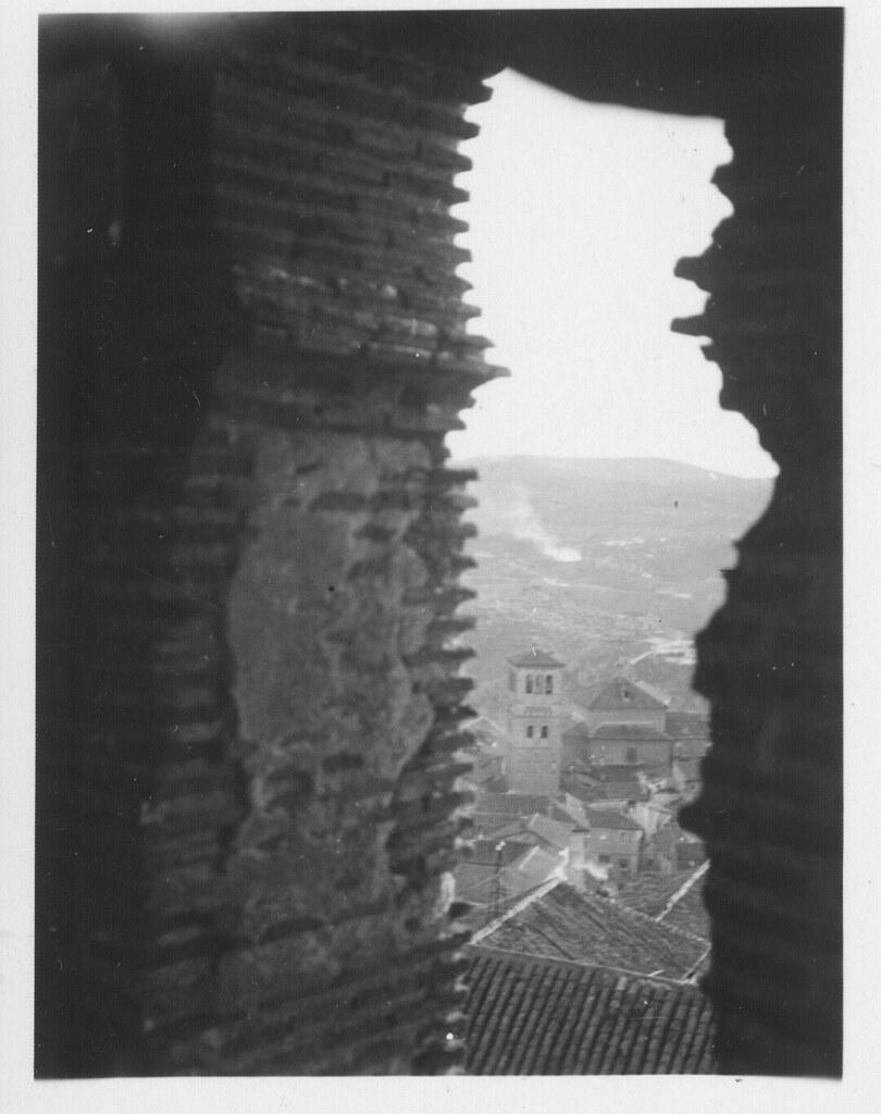 Vista desde una torre mudéjar hacia 1930. Fotografía de Fernando García Mercadal © Fundación Arquitectura COAM