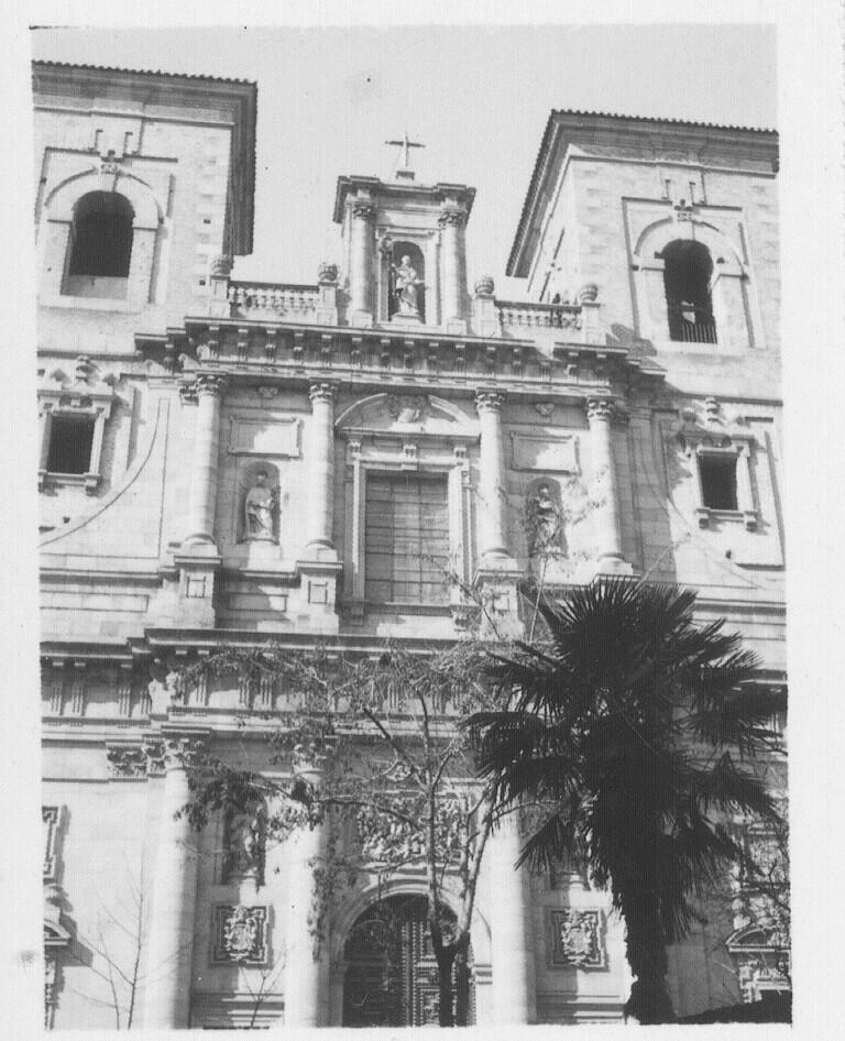 Iglesia de los Jesuitas hacia 1933. Fotografía de Fernando García Mercadal © Fundación Arquitectura COAM