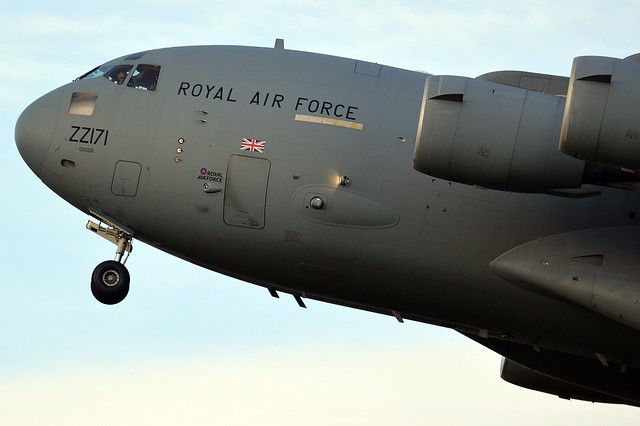 Royal Air Force Boeing C-17A Globemaster III ZZ171
