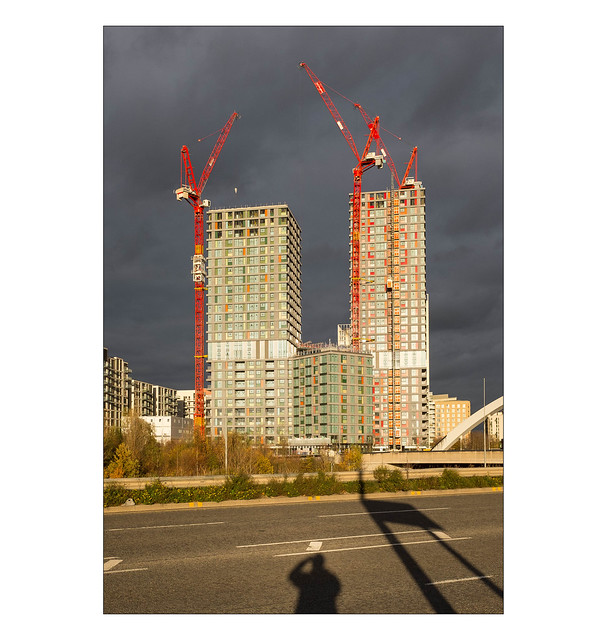 The Built Environment, Stratford, East London, England.